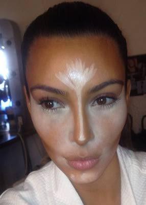 kim-kardashian-face-contouring-lesson