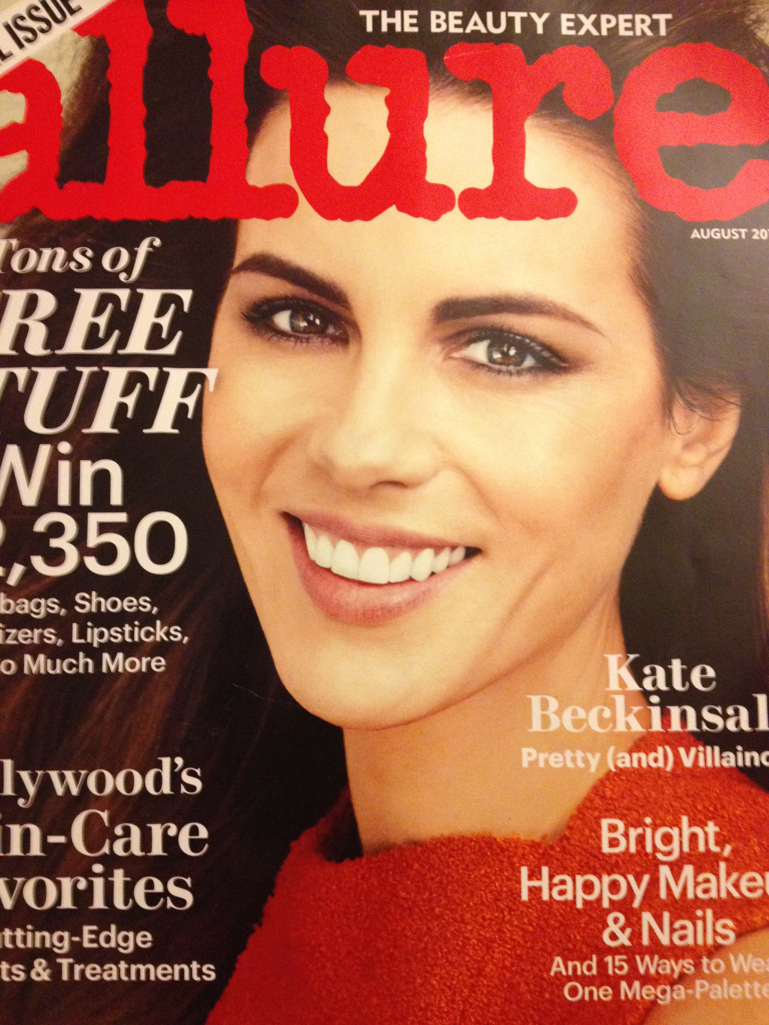 Allure always features a page in every issue that gives the details on their ...