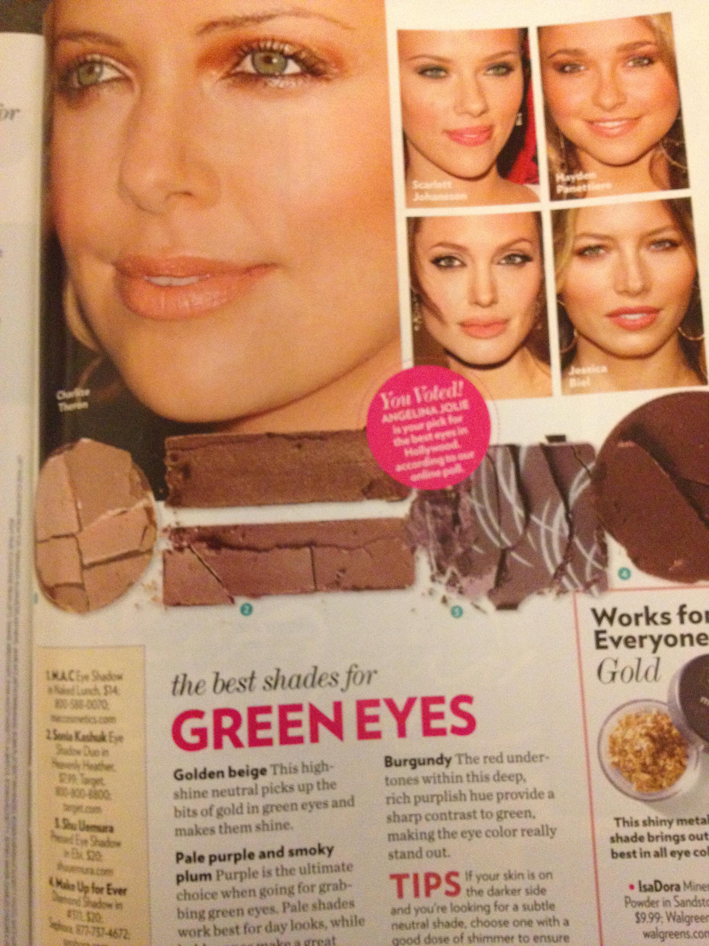 best eyeshadow for green eyes | thebrightblush